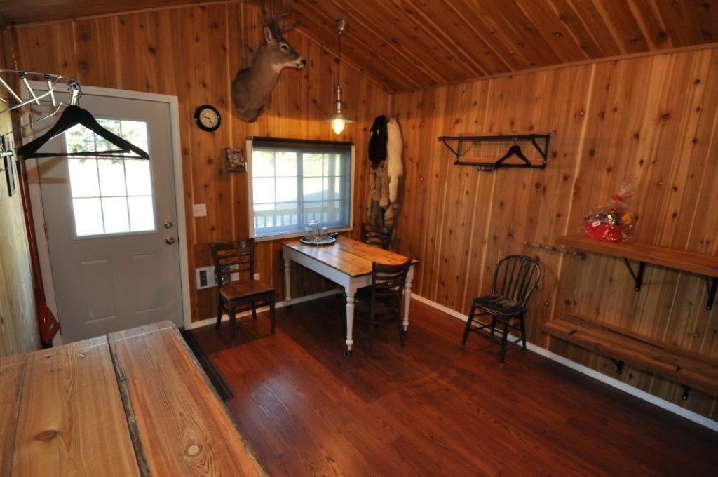 Inside Birdtail Waterfowl lodge 7