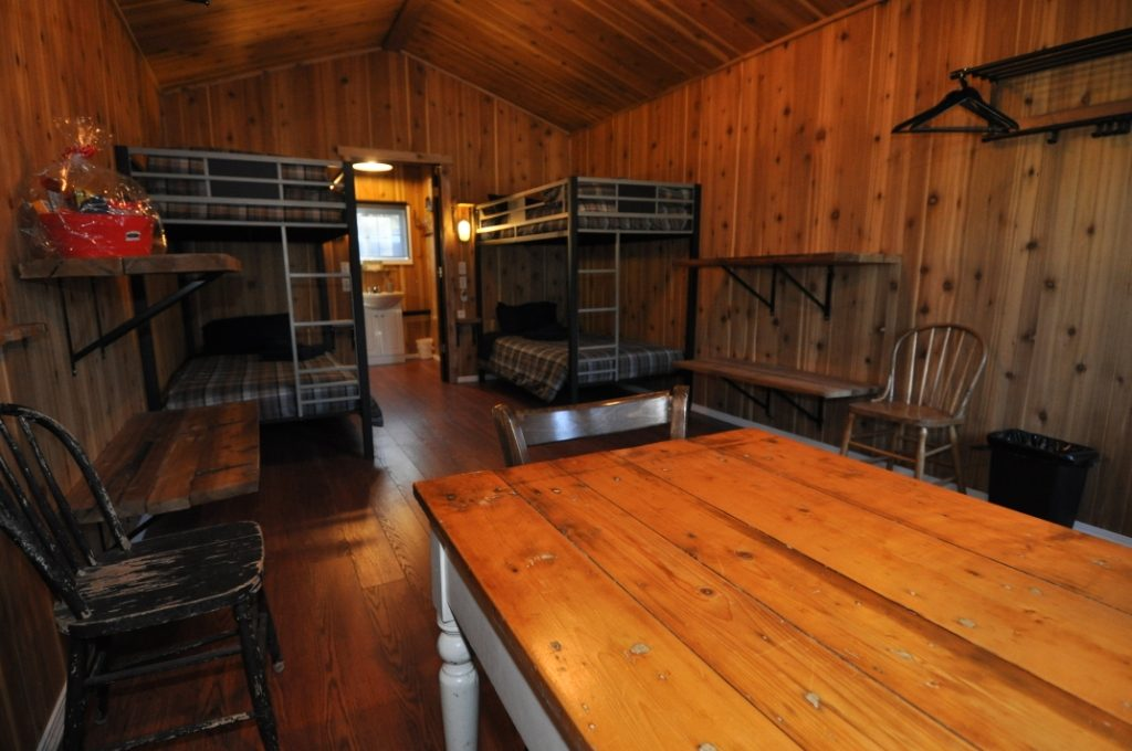 Inside Birdtail Waterfowl lodge 5