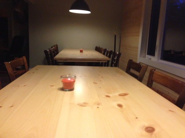 Hand made pine tables 6