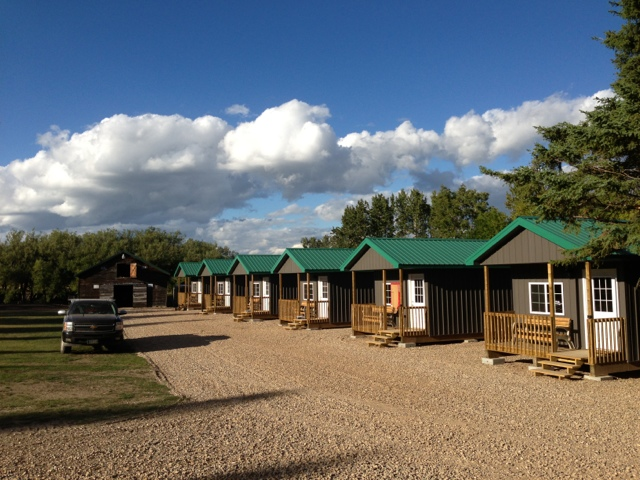 Our new guest cabins 6