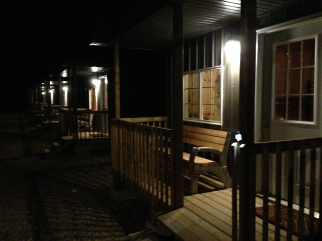 Our new guest cabins 7