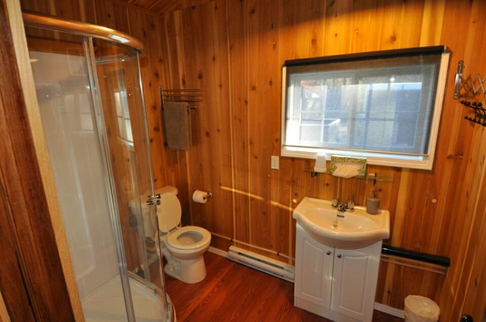 Full Bathroom in Hunting Cabin